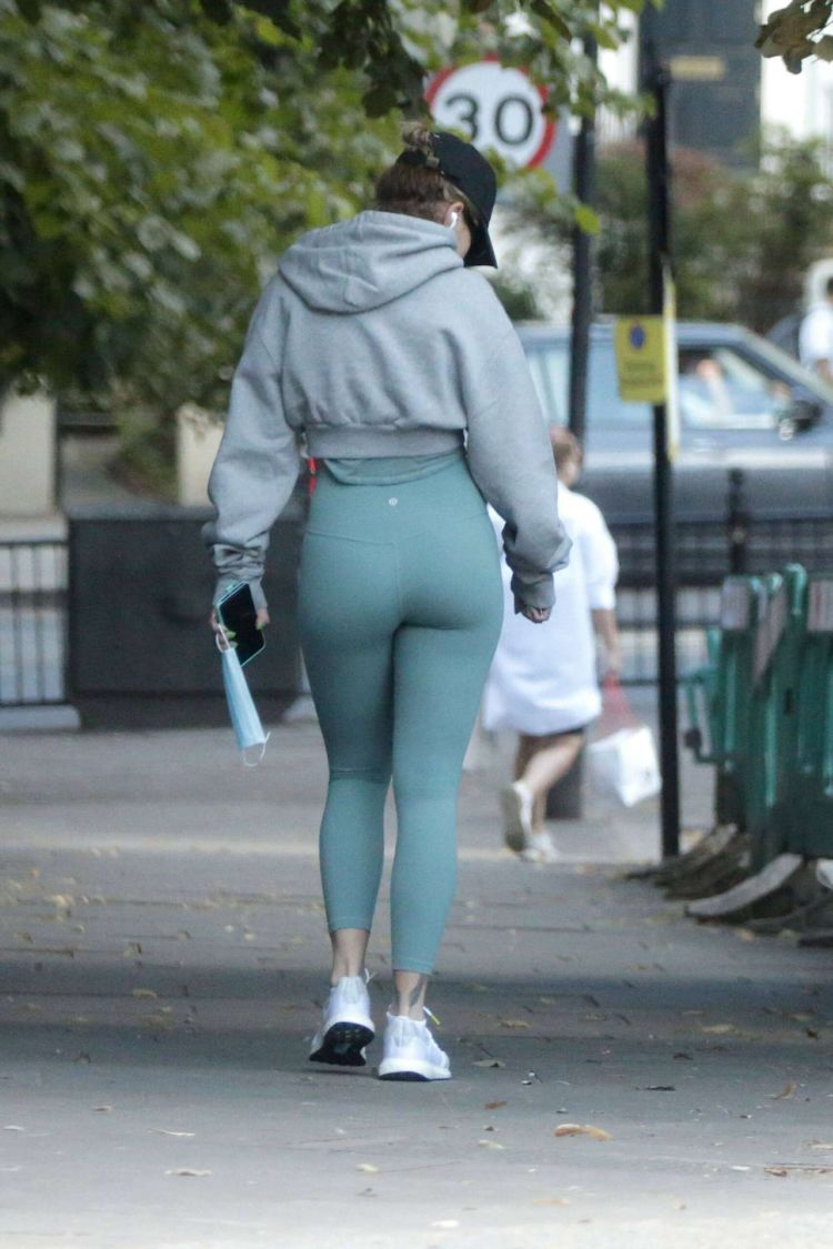 Rita Ora Candids In Tight Leggings Outside Her Gym In London