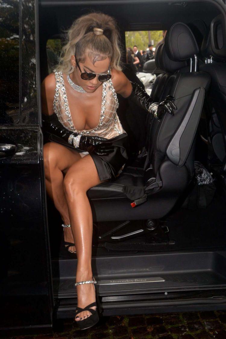 Rita Ora Candids Out In Paris