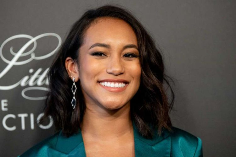Sydney Park Attends The Premiere Of 'Pretty Little Liars: The Perfectionists' In Hollywood