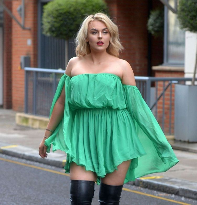 Tallia Storm Out And About Candids In London