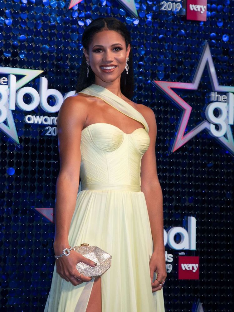 Gorgeous Vick Hope At The Global Awards 2019 In London