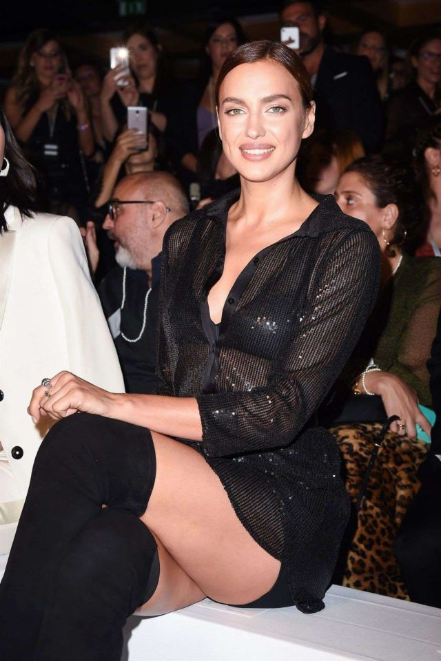 Irina Shayk Turned Heads At Intimissimi Fashion Show In Verona