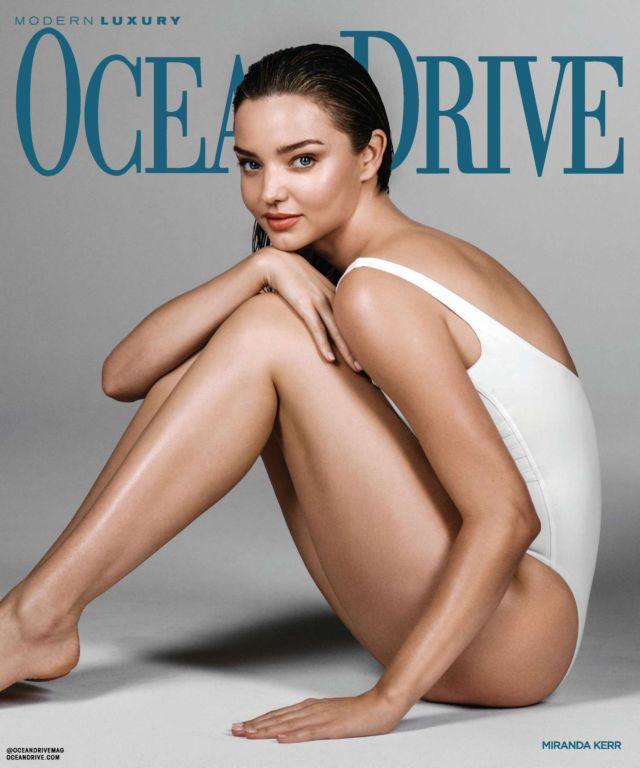 Miranda Kerr Glams Up Ocean Drive Magazine - July/August 2020