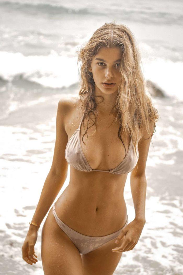 Camila Morrone's Sensational Bikini Photoshoot In Malibu