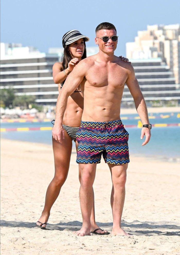 Danielle Lloyd On A Bikini Vacation With Her Husband Michael O'Neill In Dubai