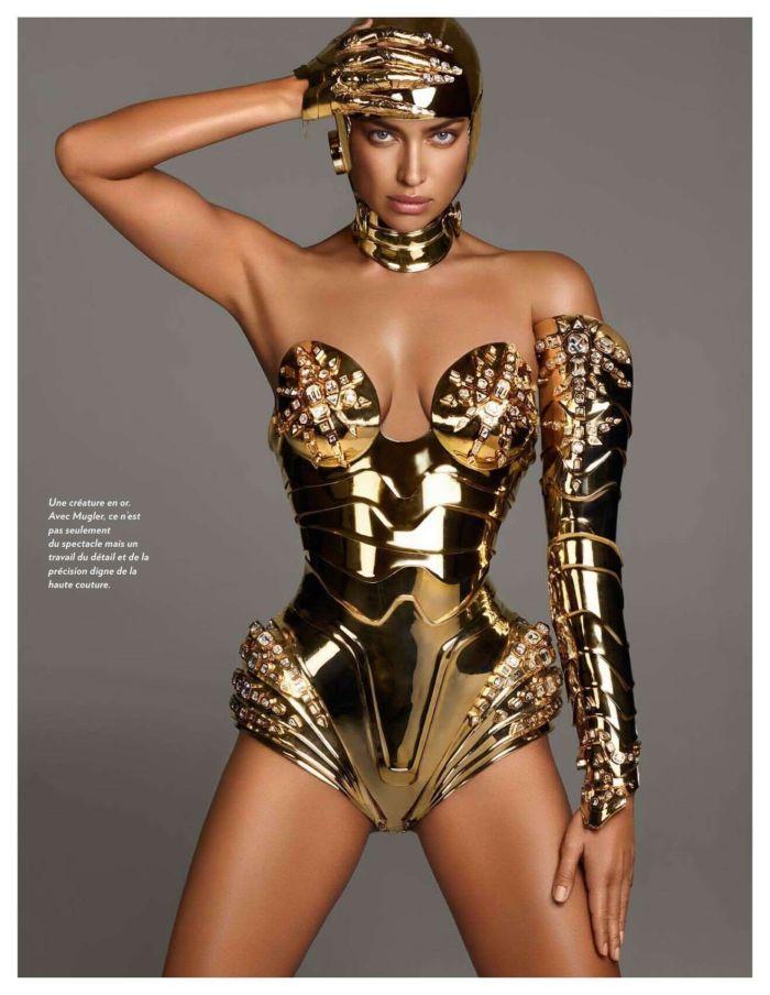Irina Shayk Poses For Paris Match Magazine Photoshoot