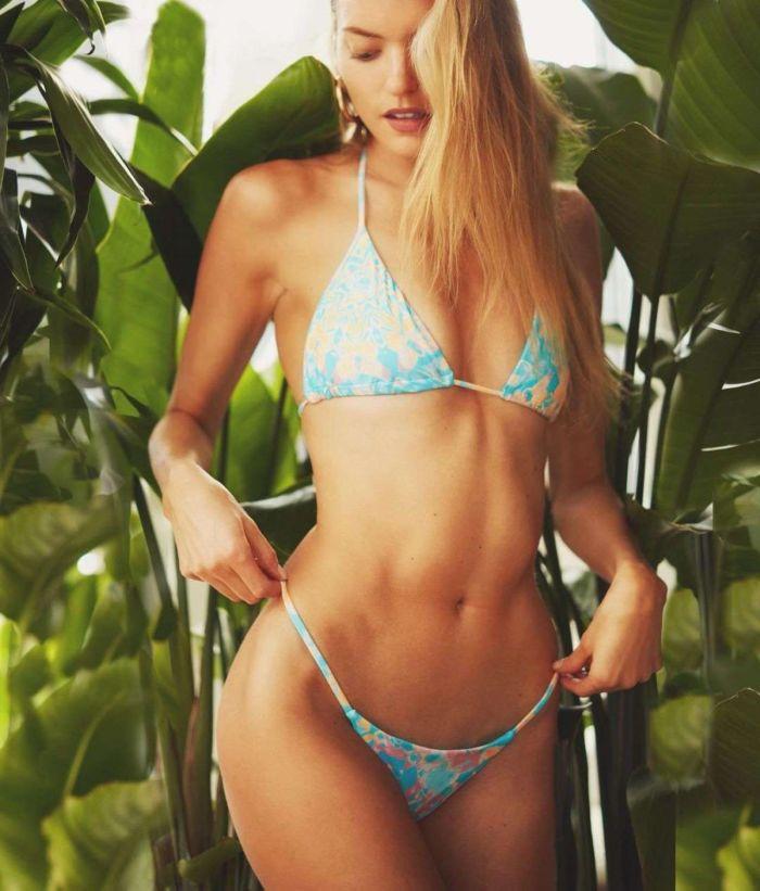 Martha Hunt's Special Bikini Photoshoot 2019